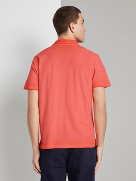 Meliertes Poloshirt im Washed-Look - 2 - TOM TAILOR