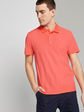Meliertes Poloshirt im Washed-Look - 5 - TOM TAILOR