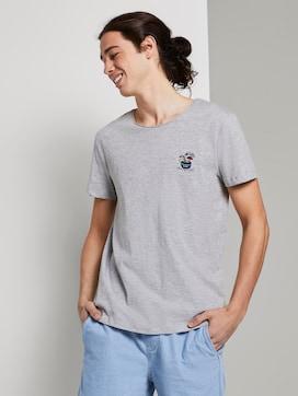 Schlichtes T-Shirt - 5 - TOM TAILOR Denim