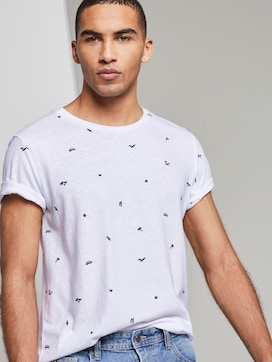 T-Shirt met tekening - 5 - TOM TAILOR Denim