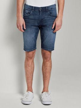 Plain denim shorts - 1 - TOM TAILOR Denim