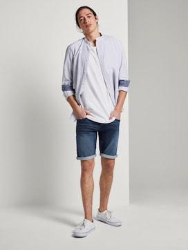 Plain denim shorts - 3 - TOM TAILOR Denim