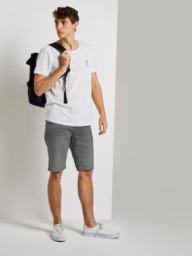 Plain denim shorts - 3 - TOM TAILOR Denim