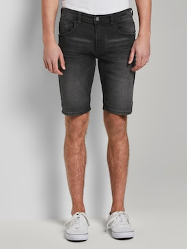 Plain denim shorts - 1 - TOM TAILOR Denim