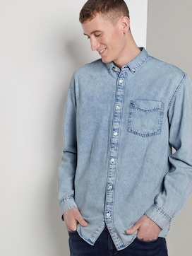 Loose denim overhemd - 5 - TOM TAILOR Denim