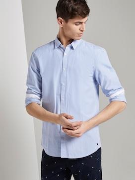 Soft poplin shirt with a pattern - 5 - TOM TAILOR Denim