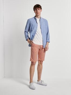 Gemusterte Chino Shorts - 3 - TOM TAILOR Denim