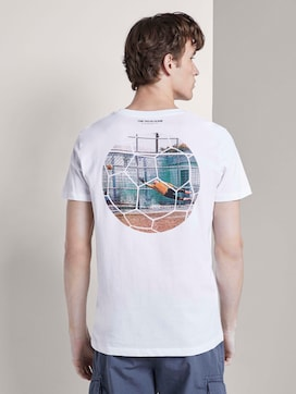 T-shirt with football prints - 2 - TOM TAILOR Denim