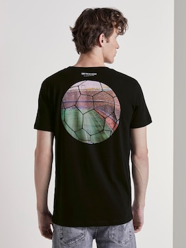 T-Shirt mit Fußball-Prints - 2 - TOM TAILOR Denim