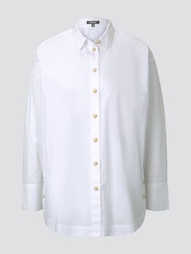 Blusenshirt mit Schlitzdetail - 7 - Tom Tailor E-Shop Kollektion