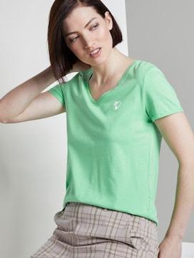 T-shirt met een kleine print - 5 - TOM TAILOR Denim