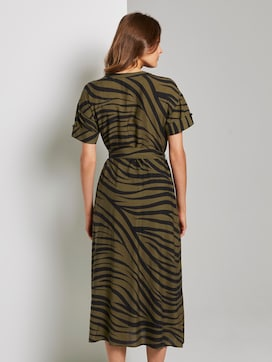 Maxikleid im Zebra-Muster - 2 - Tom Tailor E-Shop Kollektion