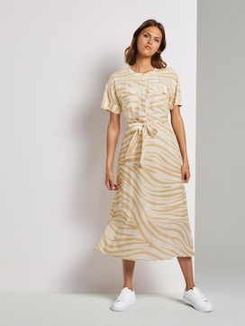Maxikleid im Zebra-Muster - 5 - Tom Tailor E-Shop Kollektion