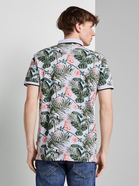 Poloshirt mit Allover-Print - 2 - TOM TAILOR Denim
