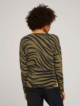 Pullover im Zebra-Muster - 2 - Mine to five