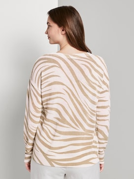 Pullover im Zebra-Muster - 2 - Tom Tailor E-Shop Kollektion