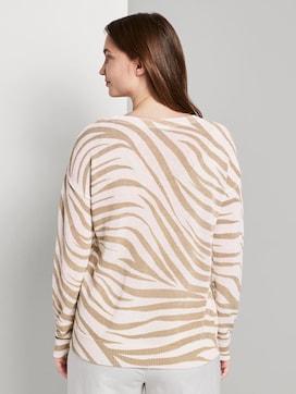 Pullover im Zebra-Muster - 2 - Mine to five