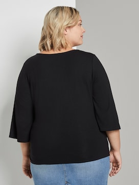 Bluse mit Knoten-Detail - 2 - My True Me