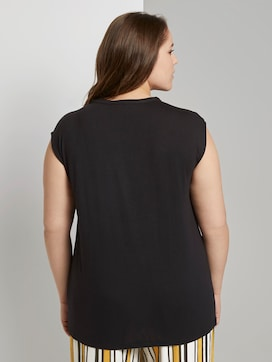 Mouwloze Blouse met Strik Detail - 2 - My True Me