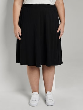 A-Line jersey skirt - 1 - My True Me