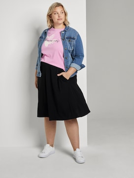 A-Line jersey skirt - 3 - My True Me