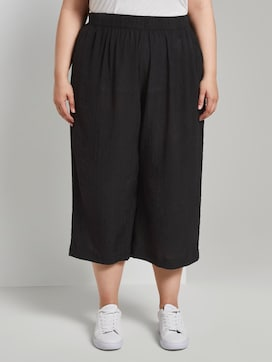 Culotte trousers in a crincle look - 1 - My True Me