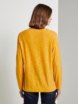Pullover mit Seitenschlitzen - 2 - TOM TAILOR