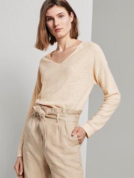Pullover mit Seitenschlitzen - 5 - TOM TAILOR