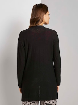 Long cardigan with loose-fit pockets - 2 - TOM TAILOR