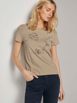 T-shirt met artwork - 5 - TOM TAILOR