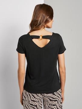 T-Shirt mit Ringdetail am Rücken - 2 - TOM TAILOR