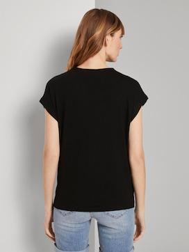 T-Shirt mit Stehkragen - 2 - TOM TAILOR