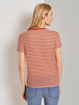 Gestreepte T-Shirt - 2 - TOM TAILOR