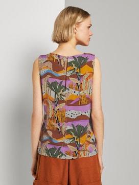 Ärmellose Bluse mit exotischem Print - 2 - TOM TAILOR Denim