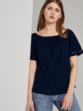 Carmen blouse - 5 - TOM TAILOR Denim