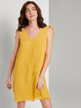 Ärmelloses Chiffon-Kleid mit Schulter-Detail - 5 - TOM TAILOR