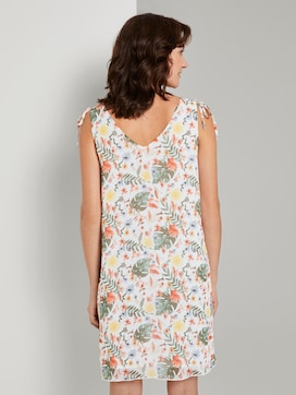 Ärmelloses Chiffon-Kleid mit Schulter-Detail - 2 - TOM TAILOR