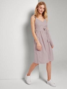 Sommerliches Kleid mit Streifenmuster - 5 - TOM TAILOR