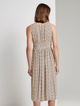Midi dress with smocking details - 2 - TOM TAILOR