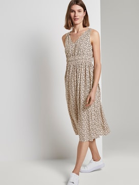 Midi dress with smocking details - 5 - TOM TAILOR