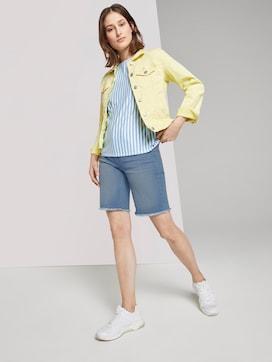 Lina denim shorts met gerafelde zoom rand - 3 - TOM TAILOR Denim