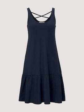 Kleid mit Rücken-Detail und Rüschung - 7 - TOM TAILOR Denim