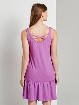 Kleid mit Rücken-Detail und Rüschung - 2 - TOM TAILOR Denim