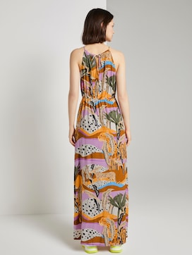 Printed maxi halter dress - 2 - TOM TAILOR Denim