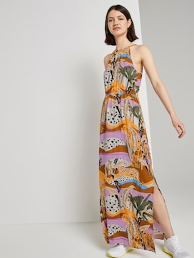 Printed maxi halter dress - 5 - TOM TAILOR Denim