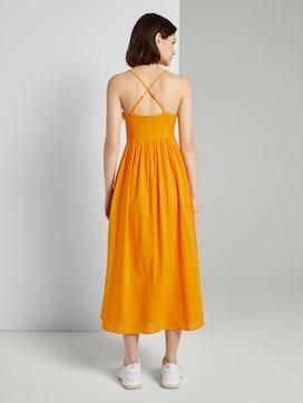 Midi Kleid mit Knoten-Detail - 2 - TOM TAILOR Denim