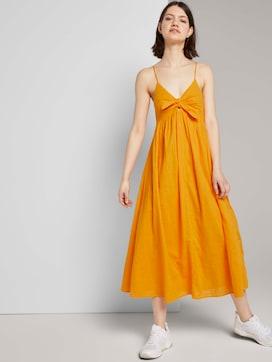 Midi Kleid mit Knoten-Detail - 5 - TOM TAILOR Denim