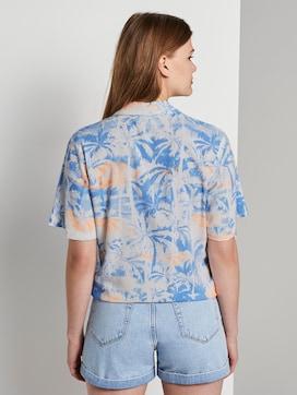 Hawaii-Hemd mit Palmen-Print zum Knoten - 2 - TOM TAILOR Denim