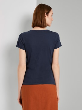 T-shirt with a pattern - 2 - TOM TAILOR Denim