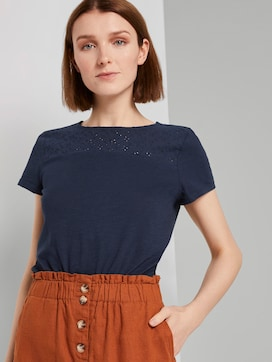 T-shirt with a pattern - 5 - TOM TAILOR Denim